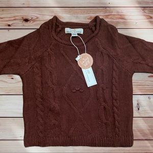 NWT Baileys blossoms sweater 6-9 months baby girl